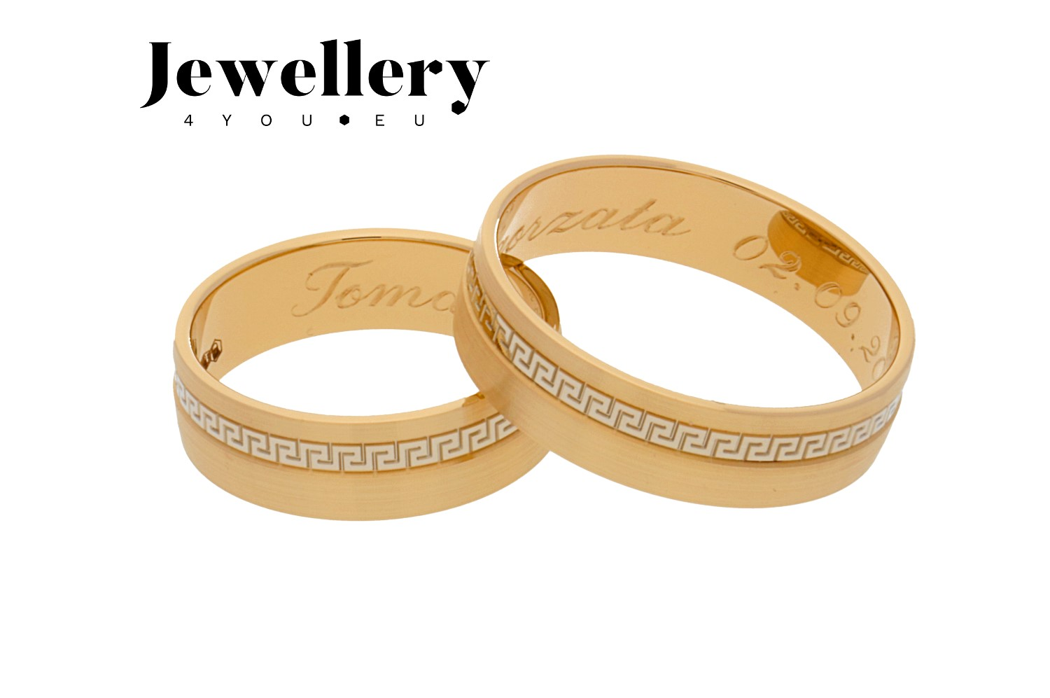 gold wedding rings 203